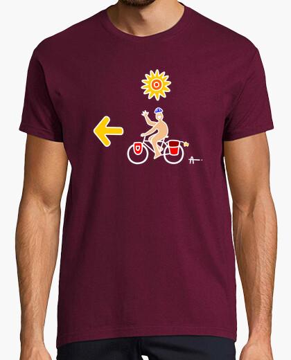 Camiseta Santiago bici (B)