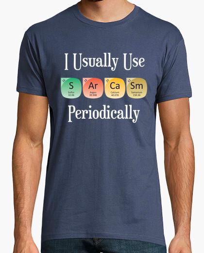 Camiseta Sarcasm Periodically diseño de camisa p