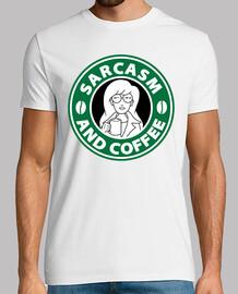 sarcasme et de café