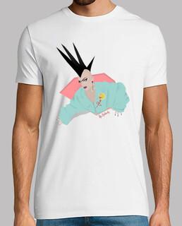 sasha velor cotton t-shirt