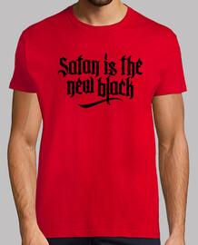 satan est le nouveau n ° 2 noir (blanc)