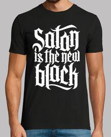 satan est le nouveau n ° 4 noir (blanc)