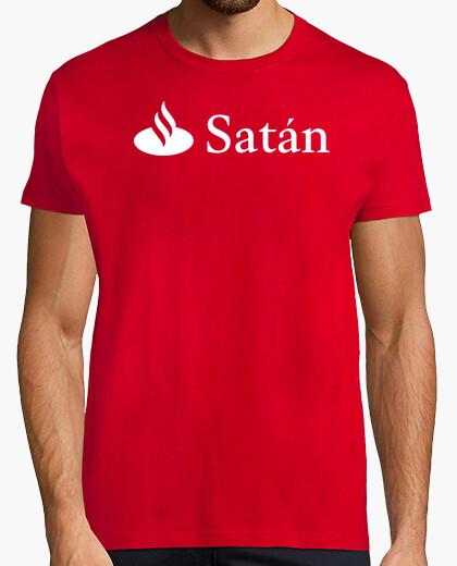 Camiseta Satán (Logo Santander)