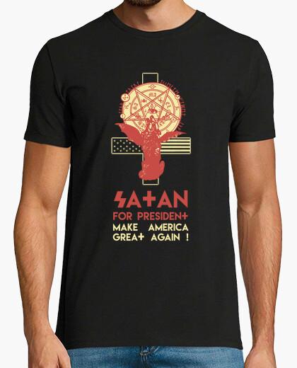 Tee-shirt satan pour le président