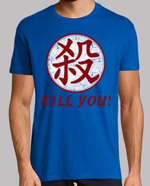 satsu kanji (kill-mörder)