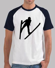 saut à ski cavalier