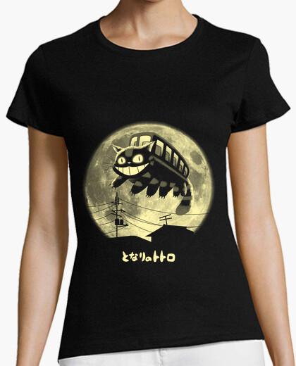 Tee-shirt saut chat chemise femmes