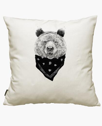 Housse de coussin sauvage bear