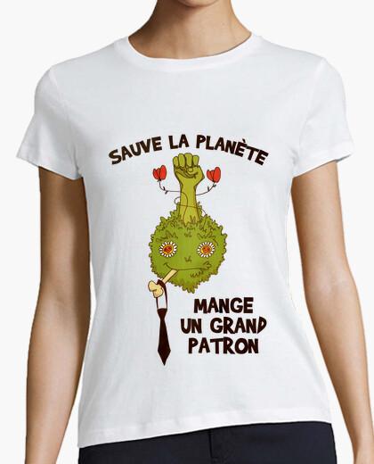 Tee-shirt Sauve la planète