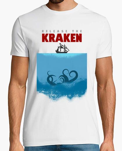 Tee-shirt sauver le kraken!