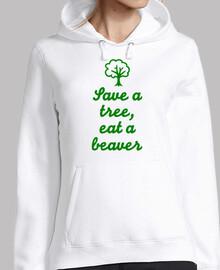 sauver un arbre manger un castor