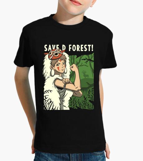Vêtements enfant sauvons la forêt!