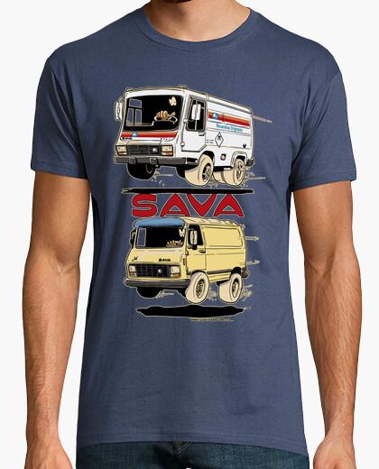 Camiseta SAVA furgonetas