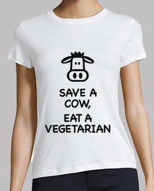 Save a Cow, Eat a Vegetarian