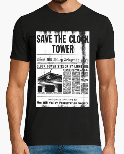 Camiseta save he clock tower