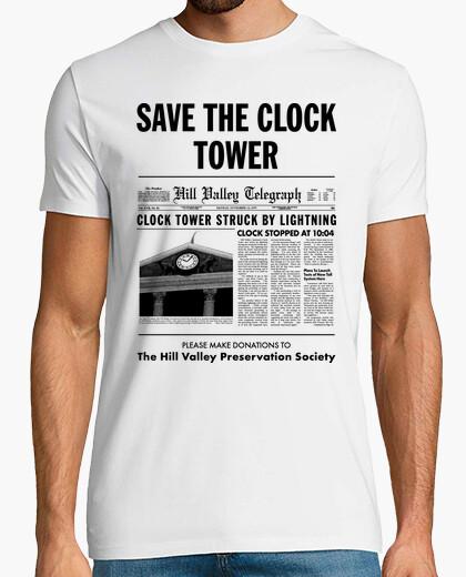 Camiseta Save the Clock Tower (Regreso al Futuro)