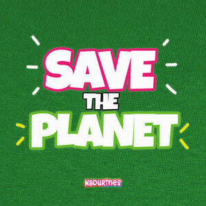 Camisetas Save the Planet by Nadurines