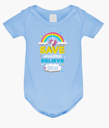 Ropa infantil Save unicorns