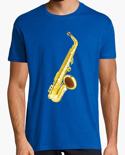 T-shirt saxofono