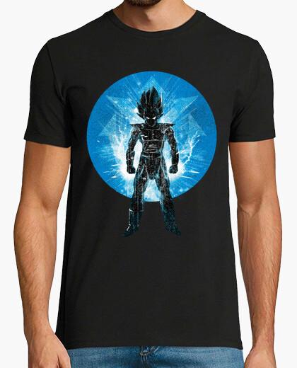 Camiseta sayan príncipe azul