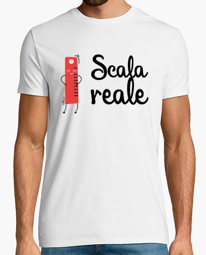 T-shirt Scala reale