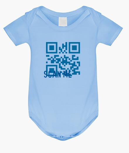 Vêtements enfant scannez-moi bleu