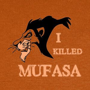 Camisetas Scar I KILLED MUFASA