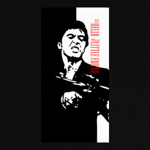Camisetas SCARFACE Say hello to my little friend