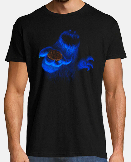 Scary cookie monster camiseta