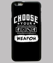 scegli la your arma