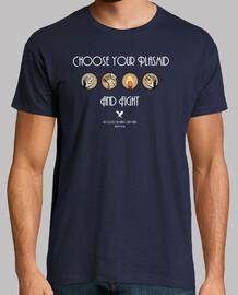 scegliere il plasmide - t-shirt da uomo