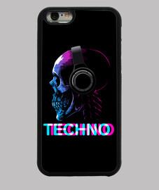 schädel / totenkopf techno