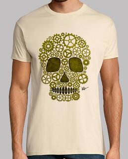 schädel steampunk gold !!!