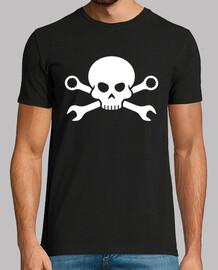 schädel und knochen - piratenschraube 1 (bla