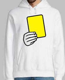 Schiedsrichter gelbe Karte