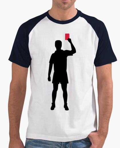 T-Shirt schiedsrichter rote karte