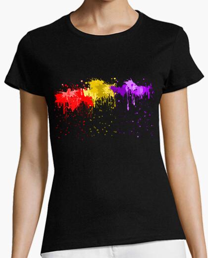 T-shirt schizzi repubblica