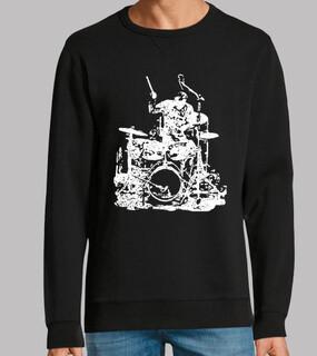 Schlagzeuger auf der Bühne