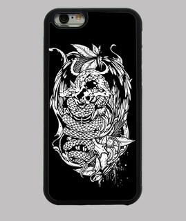 schlange dragon (weiß)