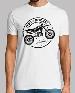 schmutzige Rakete Motocross