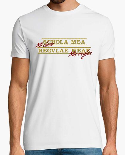 Schola mea regulae meae t-shirt
