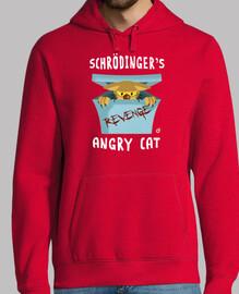 schrödingers angry chat (garçon et  femme  t)