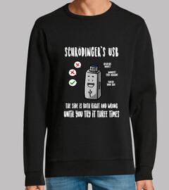 schrödingers usb-sweatshirt
