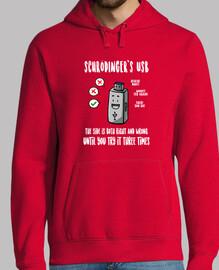 Schrödinger's USB felpa