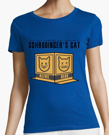 Camiseta Schrodin Gear's Cat 2 para chica