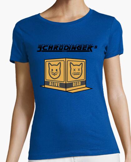 Camiseta Schrodin Gear's Cat Chica