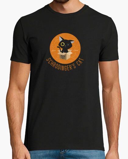 T-shirt schrodinger gatto - gatto schrodinger - big bang theory