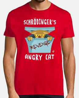 schròdinger gatto arrabbiato (t uomo e una ragazza)