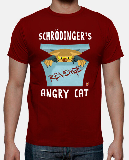 Schrodinger's angry cat (camisetas chico y chica)