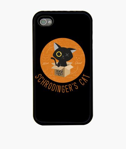 Funda iPhone schrodinger's cat - gato de schrodinger - big bang theory